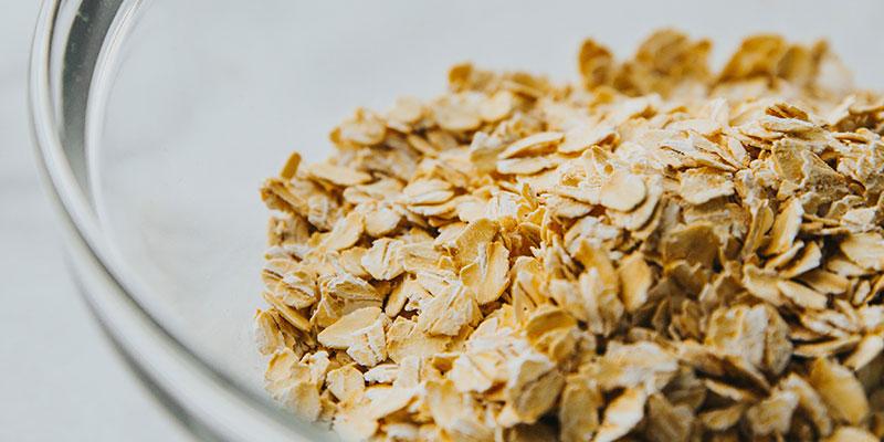 Oatmeal grains